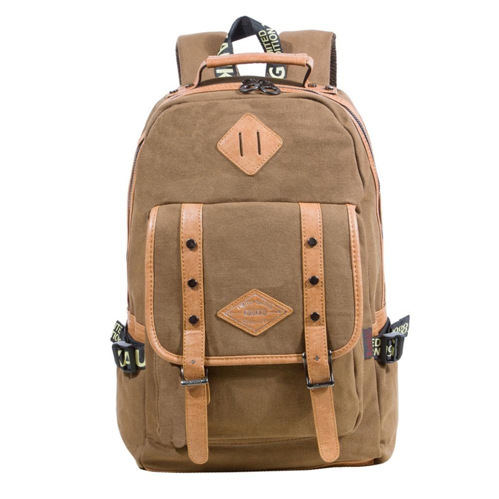 Canvas Shoulder Backpack Bags Female Men Child Backpack School Backpacks Beach Shopping Bag Beach Bag(China (Mainland))