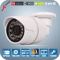 1920*1080P 2MP HD Surveillance Video Cameras ONVIF 2.0 Waterproof Outdoor IR CUT Night Vision P2P Mini Bullet IP Camera