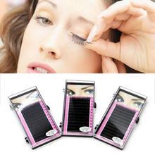 Beautiful Makeup Individual False Eyelashes Thick Curl Eye Lash Extensions Tool 8/10/12mm#M01176