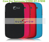 High Quality Frosted PC Hard Cover Case For Samsung S7898 GT-S7898 Phone Ultra-thin Matte Back Cover Case For Samsung S7898