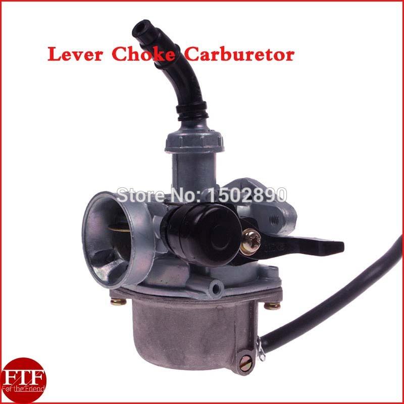 PZ19 Lever Choke Carburetor Carb For 50 70 90 110 125cc ATV Honda CRF(China (Mainland))