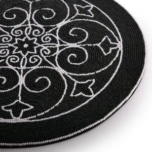 Zwarte Ronde Placemats Koop Goedkope Zwarte Ronde