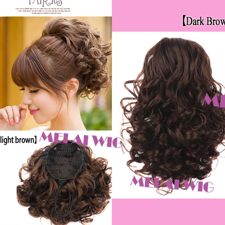 Curly Bun Hair Pieces Curly Ponytail Hair Bun