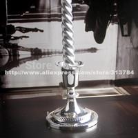 European zinc alloy beautiful Candlestick modern romantic candlelight dinner wedding props(high)