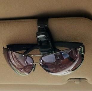 Auto supplies glasses clip car glasses clip sun-shading board car supplies black(China (Mainland))