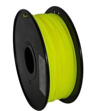 Yellow color 3d printer filament PLA 1.75mm/3mm 1kg plastic Rubber Consumables Material