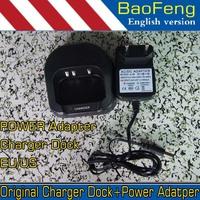 Original Baofeng UV82 UV-82 Charger Dock Power Adapter for BaoFeng 100-240V EU US  plug Power adatper