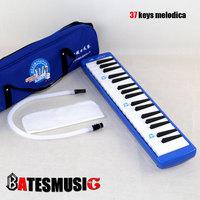 SWAN  accordion 37 blue key melodica professional melodica firston 37 key handbag  free shipping