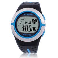[Free Shipping] Xonix sports heartbeat pectoral girdle calorie waterproof sheet sport watch HRM2
