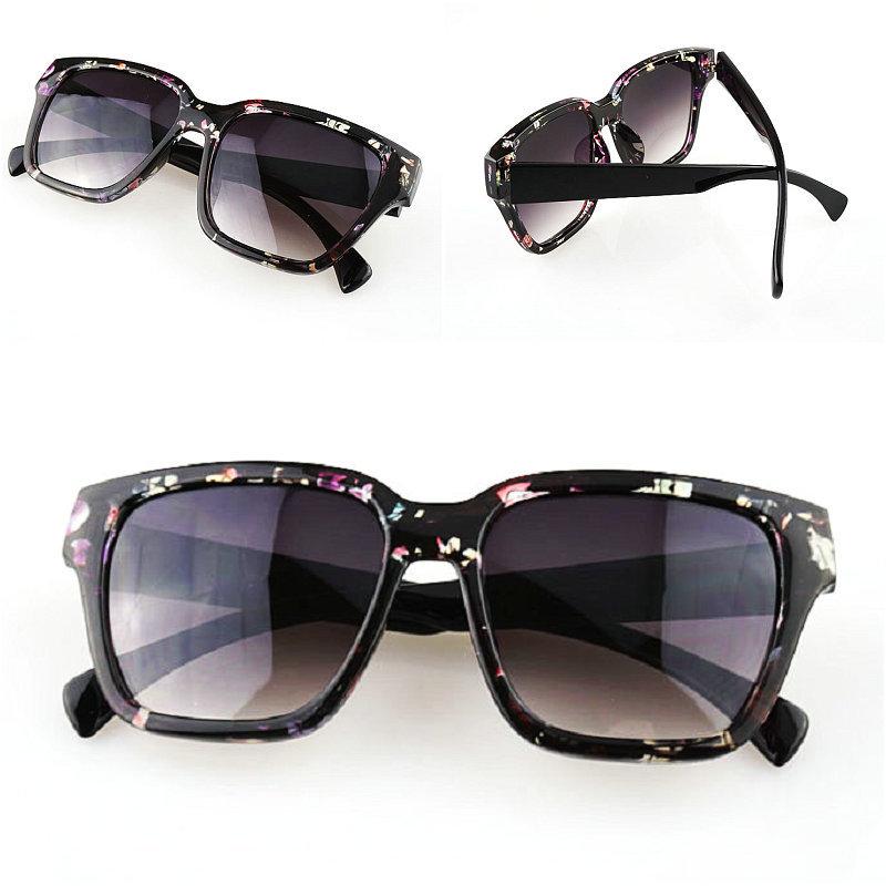 New Brand 2015 Women Fashion Sunglasses Full Frame Plastic UV Protection Driving Sun Glasses 5Colors Lenses Oculos De Sol S4116(China (Mainland))