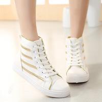 Free shipping 2015 Casual women shoes wedge muffin bottom spring platform sneaker sapatilhas femininos women shoes hot sale037