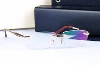 Brand Name Designer prescription eyeglasses Rimless Oculos for men optical myopia frame eyewear clear glasses 2014 new MB0349