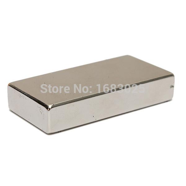 Neodymium Block Magnet 50 X 25 X 10mm N52 Very Powerful NEO Magnets DIY MRO Cuboid Magnet Block Rare Earth(China (Mainland))