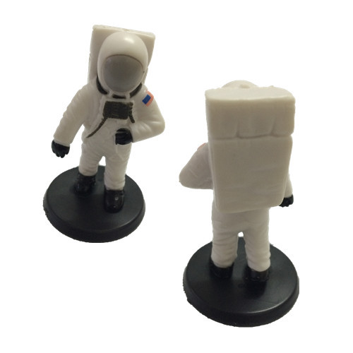 SPACE MISSION NASA SPACE ASTRONAUT PVC FIGURE, CAKE TOPPER(China (Mainland))