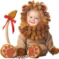Infant Toddler Jumpsuit Polar Fleece Little Lion Costume Kids Outfit Baby Boy Clothing set Rompers+hat+shoes 7-24M
