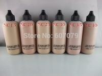 1pcs New Makeup Face And Body Foundation Fond De Teint 120ml 6 colors (NC15 20 25 30 35 40)