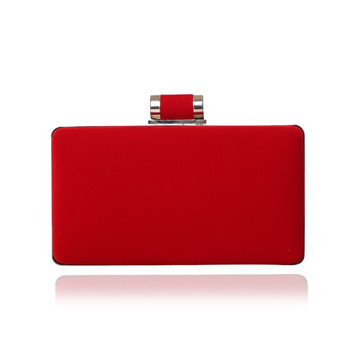 2015 Red Corduroy Simple Hard Case Designer Clutch Evening Bags Women Handbag Beg Shanel aj bolsas victor begs Hot Selling(China (Mainland))