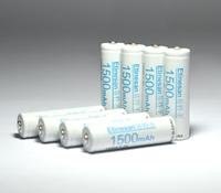 8pcs/lot Etinesan 3.2v 1500mAh 14500 AA LiFePo4 lithium rechargeable battery instead of 1.5v 1.2v battery