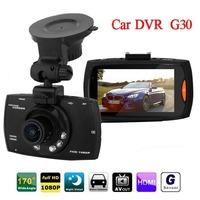 "Hot G30 2.7"" Car Dvr 170 Degree Wide Angle Full HD 1080P Car Camera Recorder Motion Detection Night Vision G-Sensor"