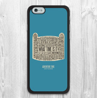 For iPhone 6 case Adventure Time Lovely Quote Protective Phone Case