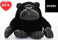 FUNNY NOVELTY ITEM 33cm Kawaii Cute Gorilla Doll Stuffed Animal Orangutan Monkey Plush Soft Toy For Boyfriend Boy Birthday Gift