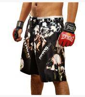 2015 Hot New arrival  brand PD high quality men shorts mma sports boxing fight men black short clothe boxing Trunks M-XXXL size