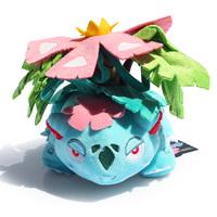 15cm Pokemon Venusaur plush Toy With Tag Bulbasaur Evolution Soft Dolls best Gift For pokemon fans Free Shipping