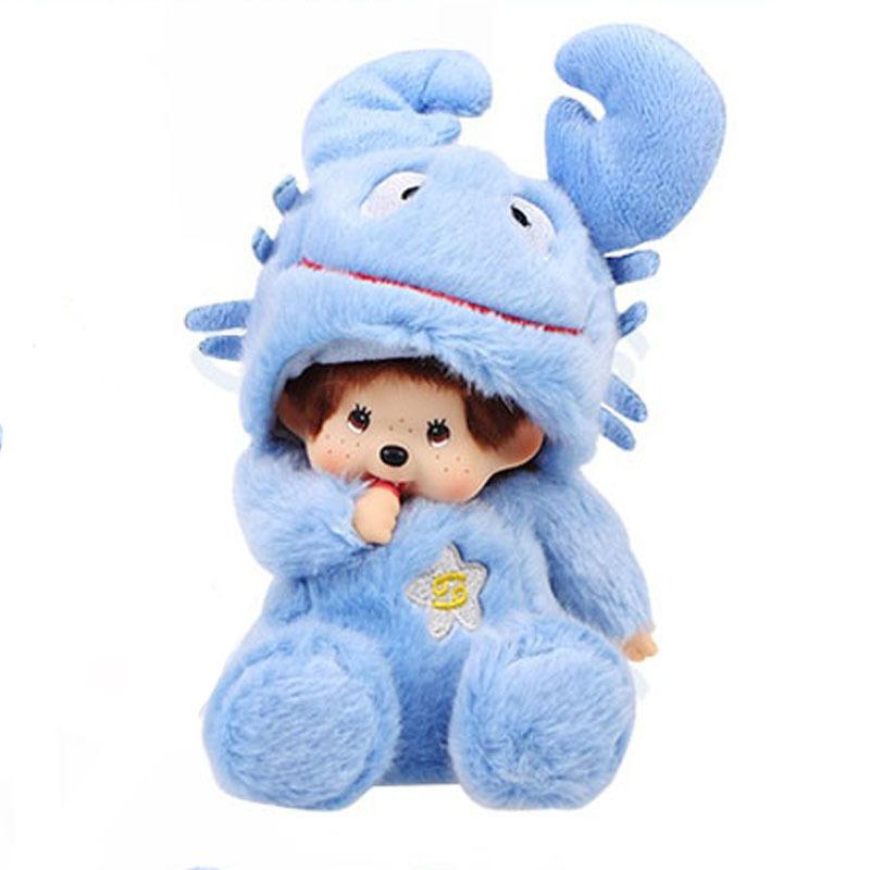 Muchila Escolar Estojo Escolar Menino Plush Stuffed Animal Backpacks Monchichi 2015 Monkey Ape Dolls Cancer Plush Toys Birthday(China (Mainland))