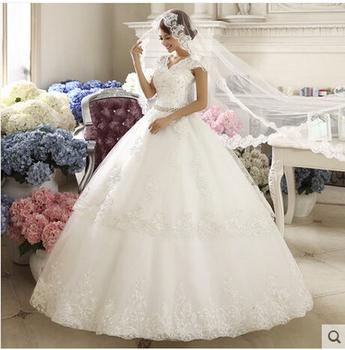 Свадебные бальные платья брак одеяние де свадебные платья Vestido де Noiva курто Casamento романтический платье невесты халат де Mariage вышивка