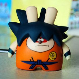 Accessories Sale Clock Car Mask Bear 2015 Seven Dragon Ball Cartoon Monkey Suit Japanese Anime Doll Genuine Figurines Ornaments(China (Mainland))