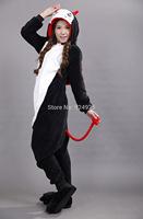 Anime cos Devil Pajamas Adult Women Men Flannel fleece hoodie Onesie Costume christmas clothes Halloween sleepsuit dress