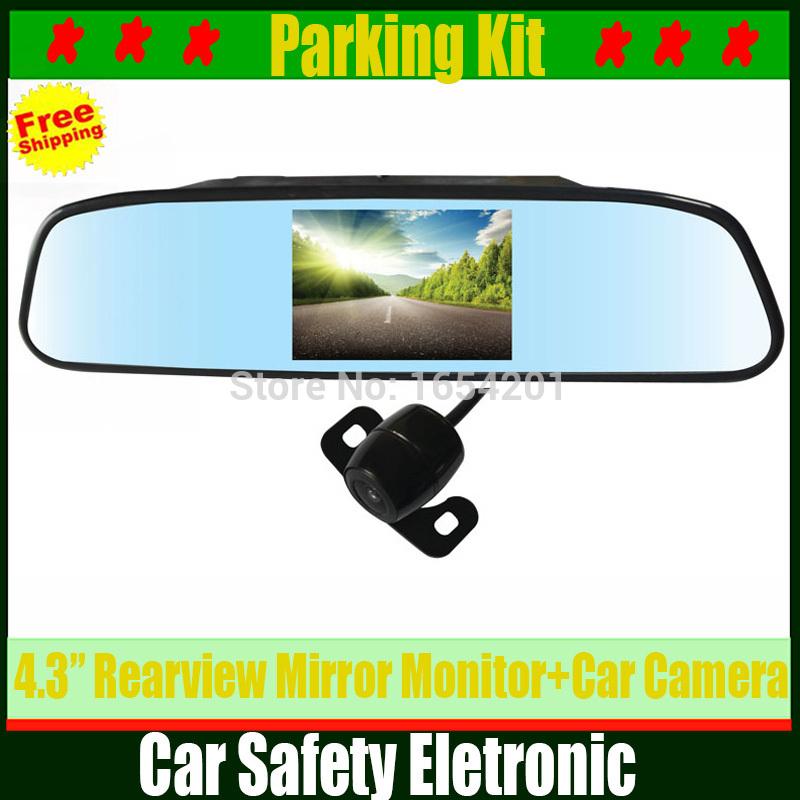 Автомобильный монитор 4,3/tft lcd HD CCD автомобильный монитор 4 3 раскладной