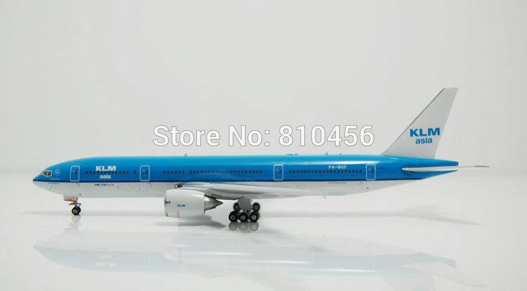 Free Shipping!1:400 Phoenix Holland Royal KLM airiline B777 model Netherland airplane model airline souvenir gift(China (Mainland))