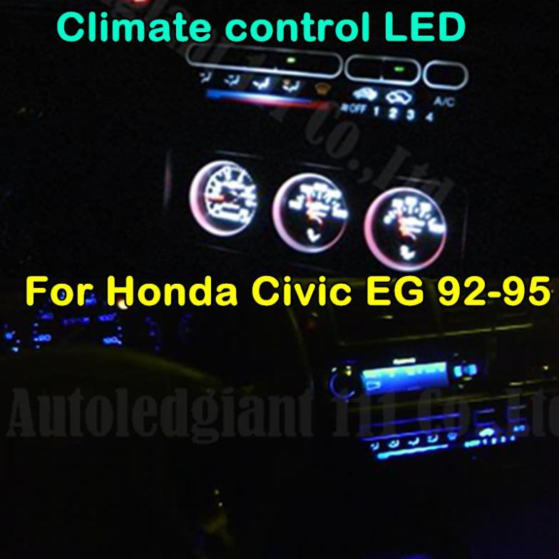 Источник света для авто Eco-Fri LED Honda Civic EG 1992 1993 1994 1995 источник света для авто eco fri led 17 x bmw 3 e93 335i 3 2007 2011 canbus