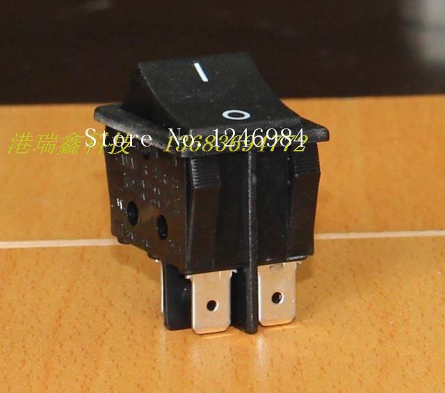 [SA]Power switch Gani CANAL dual black rocker switch two tranches large rocker switch R210-BB--50pcs/lot(China (Mainland))