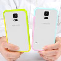 For   SAMSUNG   s5 phone case mobile phone case ultra-thin i9600 5 plastic g9006v phone case set