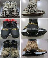Free air shippig new arrival women's Leopard design 90 running shoes for men Hot sale new color men's cushion 87 Leopard sneaker