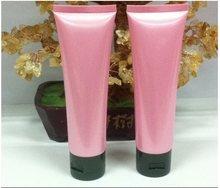 Ly2307 20 шт./лот 100 мл цвет розовый п . п . пустой многоразового бутылки косметическая мягкая трубка крем для рук эмульсия зубная паста упаковка трубка