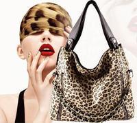 Messenger Bags Fashion 2015 large capacity handbag leopard print bag women's handbag shoulder bag bolsas female bags W153