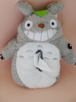Plush toy 1pc creative funny anime totoro vehicle tissue paper towel cover home decoration children stuffed gift for baby