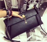 New arrive fashion women clutch bag PU leather evenlop clutch one shoulder bag