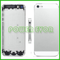 For iPhone 5 Midframe Complete Set Replacement Metal Back Battery Housing Cover For Iphone 5G Free Shipping By DHL