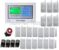 DHL freeshipping GSM wireless home security alarm system,Intelligent Mobile Call GSM Alarm System Auto-Dial & Auto audio