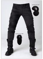 uglybros MOTORPOOL UBS06 retro black Woman men slacks motorcycle jeans loose version