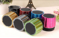 Super bass portable Wireless colorful mini Bluetooth Speaker K5, TF card, FM radio for phone PC MP3