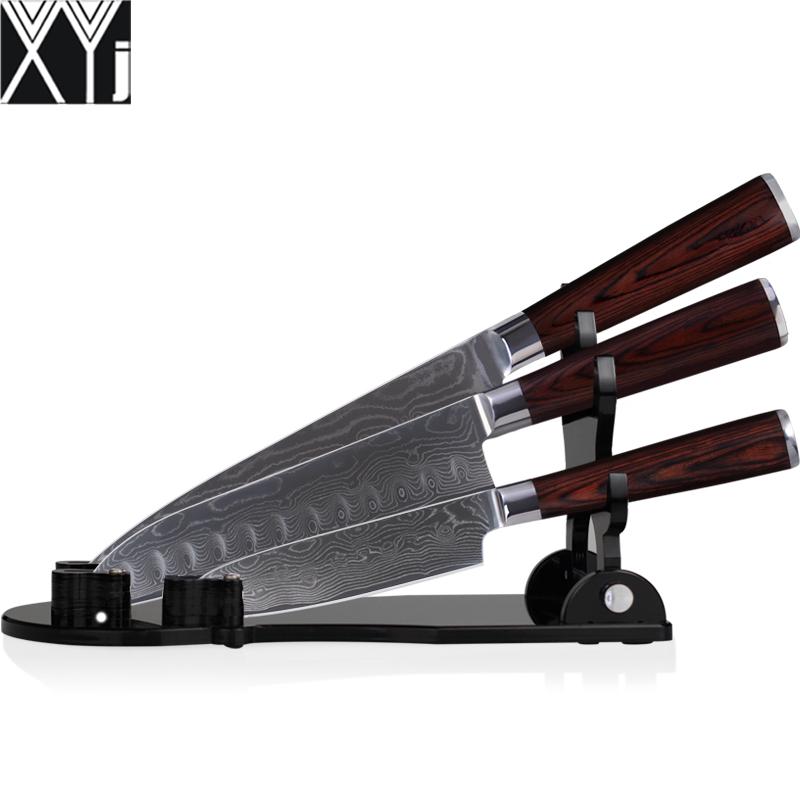 Кухонный нож XYJ VG10 8 /7 5.5 santoku + 134 vangold кольцо vg 0100808702797 б