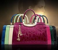 Free shipping!!2014 fashion bags high quality designer bags women handbags stone pattern bags women shoulder bags SL916