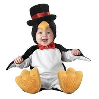 Newborn Toddler Infant Jumpsuit Fleece Penguin Costume Kids Outfit Baby Boy Girl Child Rompers + Hat + Bib + Shoes Clothing Sets