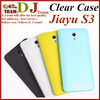 100% Official Original Comfortable Protector Cell phone Jiayu S3 Soft Case Silicon free shipping