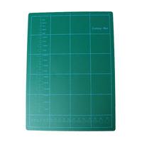 """PVC Rectangle Self Healing Cutting Mat Tool 3 Layer A4 Craft Dark green 30cm x22cm(11 6/8"""" x8 5/8"""") , 1 Sheet"""